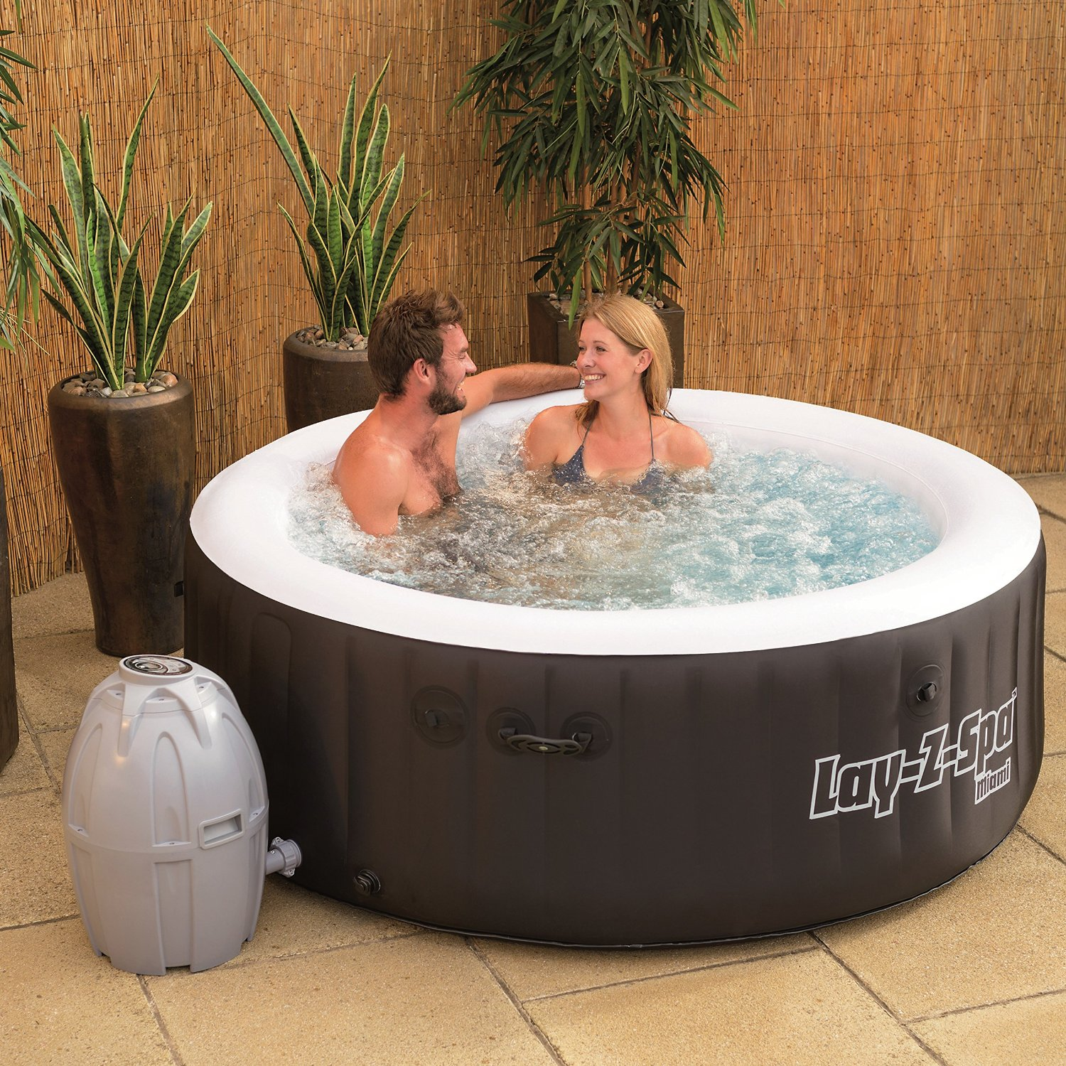 Top 3 best 2 person inflatable hot tubs laze up - Soft tube whirlpool ...