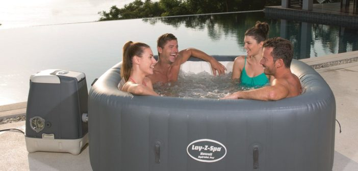 SaluSpa HydroJet Pro Inflatable Hot Tub