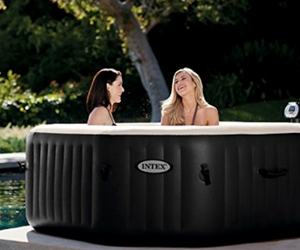 Intex PureSpa Jet and Bubble Deluxe Portable Hot Tub Review