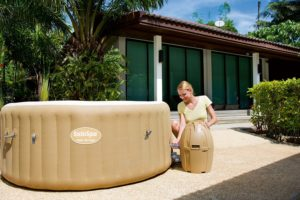 Inflatable Hot Tubs Easy To Setup