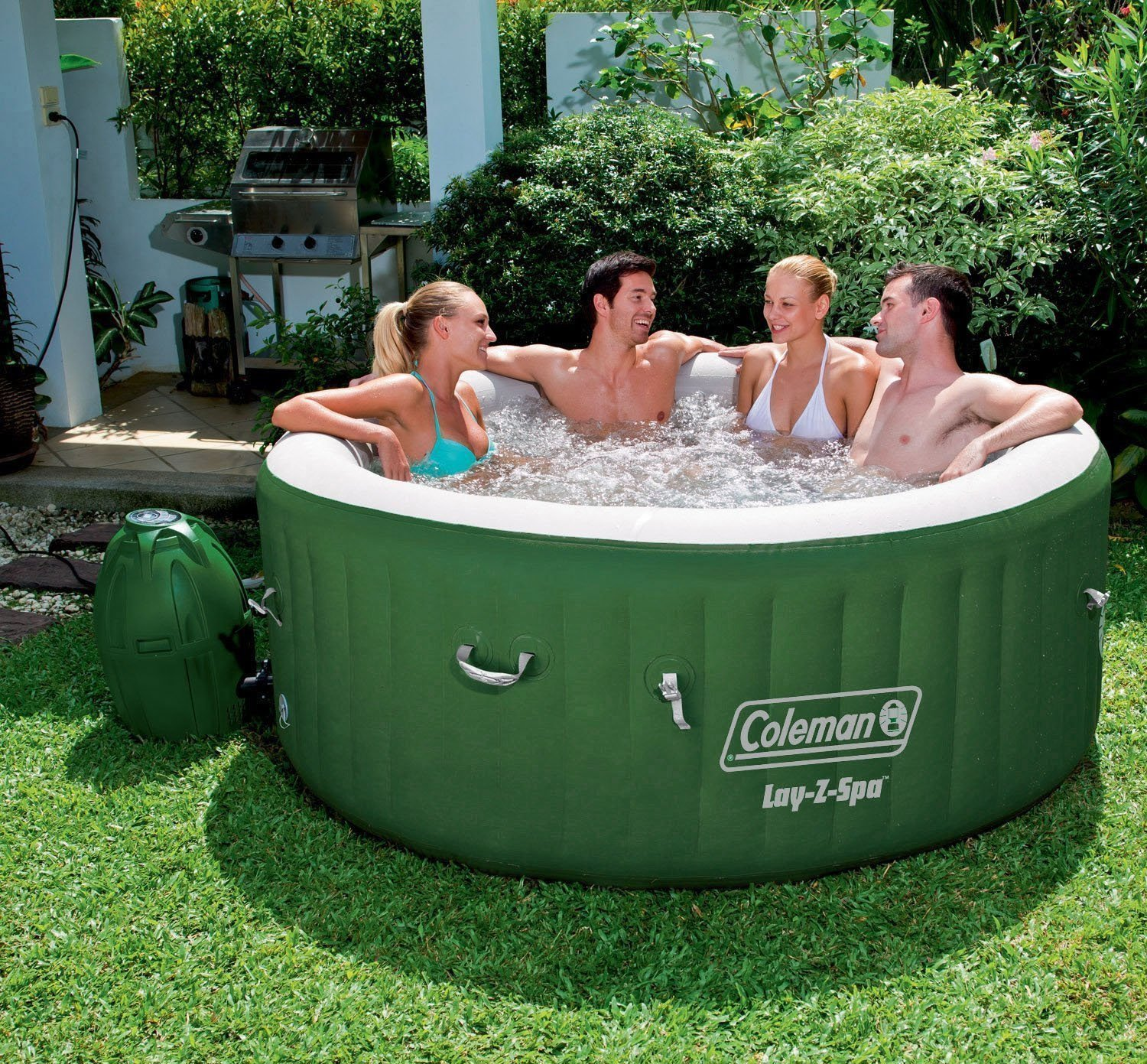 Coleman Saluspa Inflatable Hot Tub Detailed Review Laze Up