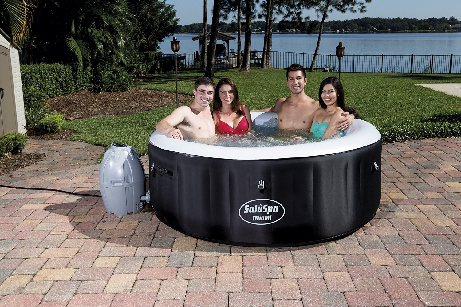 5 Best Inflatable Hot Tubs of 2017