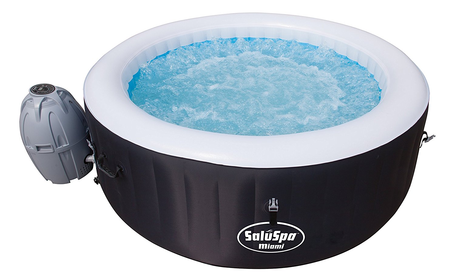 SaluSpa Miami AirJet Inflatable Hot Tub Review – Laze Up!
