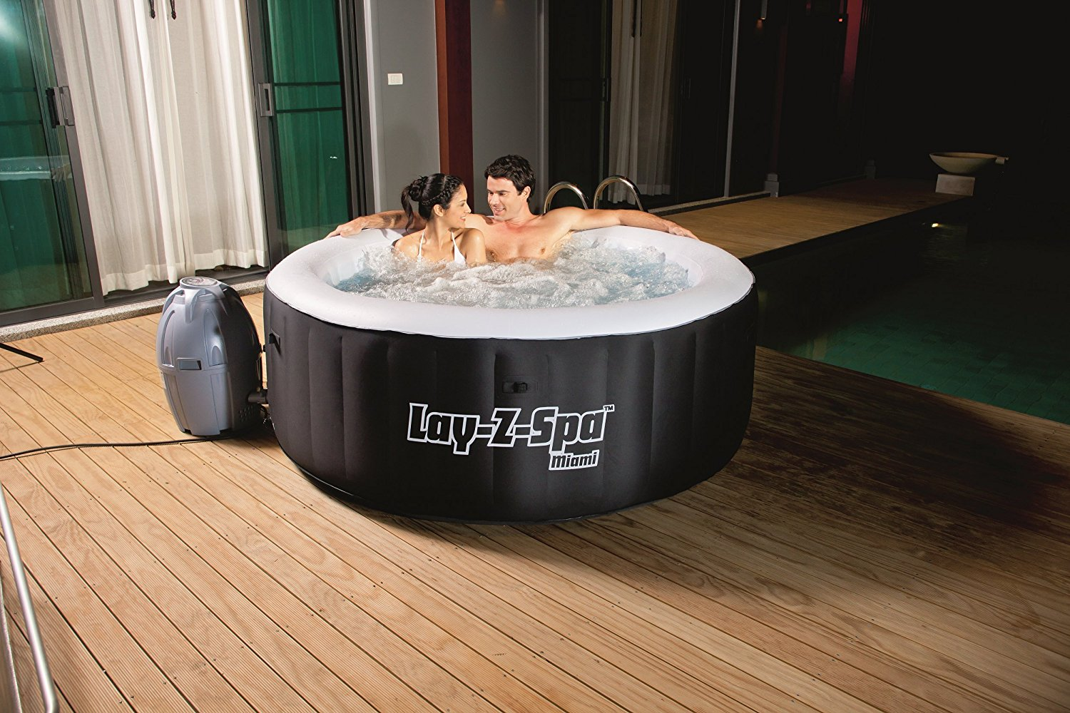 Miami AirJet Inflatable Hot Tub Review