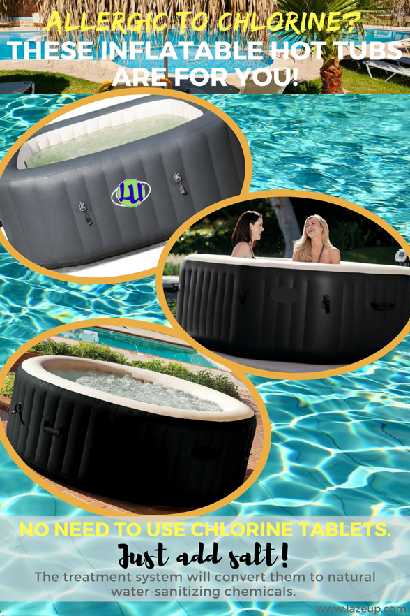 Best Inflatable Hot Tubs With Saltwater Treatment Infographics