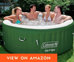 Coleman - 2 Person Inflatable Hot Tub