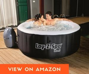 SaluSpa Miami   2 Person Inflatable Hot Tub